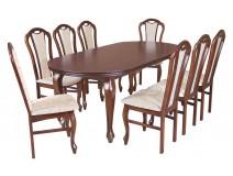 Zestaw stół Ludwik G krzesła B13