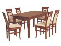 Komplet do jadalni stół Zeus krzesła B19