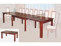 Duży stół konferencyjny na ośmiu nogach Hades XL