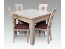 Komplet RMZ104 ze stołem rozkładanym Max Long