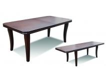 Stół z grubym blatem rozkładanym RMS32