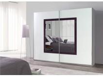 Nowoczesne szafy do sypialni z lustrem LUXURY 31