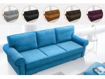 Floria - rozkładana sofa z funkcją spania w angielskim stylu