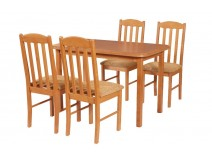 Stół Max 4 i krzesła BOSS 12