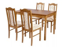 Stół Max 4 i krzesła BOSS 2