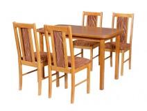 Stół Max 4 i krzesła BOSS 14