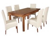 Zestaw stół Hades krzesła B39