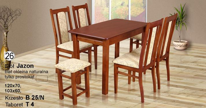 Komplet kuchenny z krzesłami do kuchni B25N