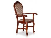 Królewskie krzesło B15 z podłokietnikami