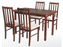 Stół zaowal Max 4 i krzesła BOSS 10