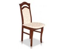 Krzesło drewniane z miękkim siedziskiem STB32