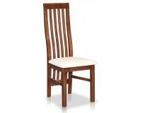 Krzesło z drewnianym oparciem STB43