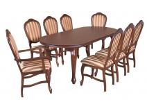 Zestaw stół Ludwik G krzesła B14 + 2 x B15