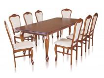 Zestaw stół Ludwik G krzesła B23N