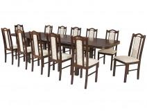 Zestaw dla 12 obós stół Wenus P7 krzesła Boss IX