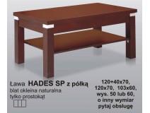Drewniane ławy rozkładane - Hades SP z półką