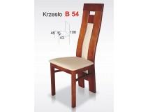 Nowoczesne krzesła Oparcie Profil B54