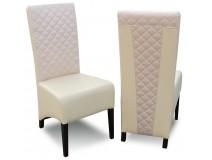 Nowoczesne Krzesła Tapicerowane Krata Krem RK44A