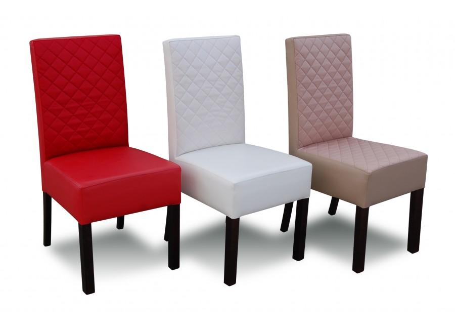 Tapicerowane Krzesła Do Salonu Krata Prosta Rk44p Flori Meble