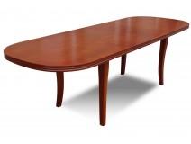 Rozłożony blat stołu drewnianego Klose RMS02