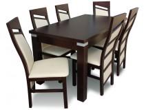 Nowoczesny Komplet 6 osobowy z krzesłami Chiński Styl RMZ106