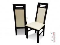 Krzesła profilowane RMK65