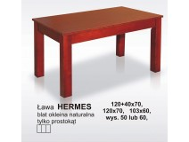 Ława do salonu Hermes, wersja laminat lub fornir