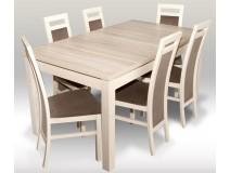 PROMOCJA Zestaw SONOMA Stół Laminat 80x160x200 + 6 x krzesło RMK75