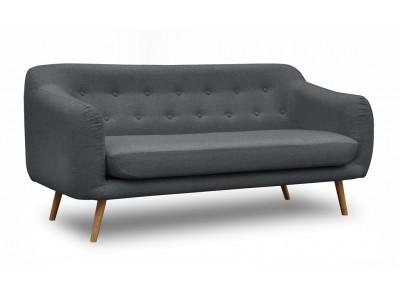Pikowana Sofa Elly w stylu Skandynawskim