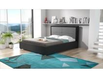 Nowoczesne łóżko tapicerowane SZYMON do sypialni