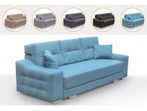 Nowoczesna sofa pikowana z funkcją spania SYPRIS
