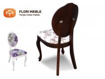 Krzesło w stylu prowansalskim RMK76 drewnopodobne
