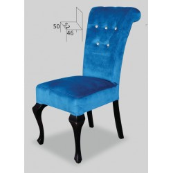 Tapicerowane krzesło do jadalni Ludwik Kryształ STB56K