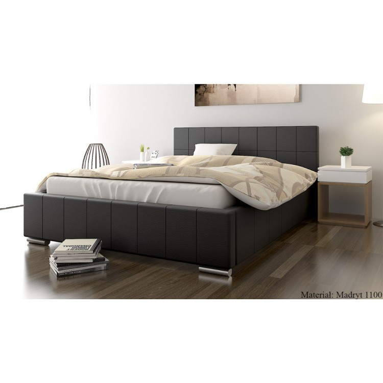 Mila AT1 tapicerowane łóżko sypialniane
