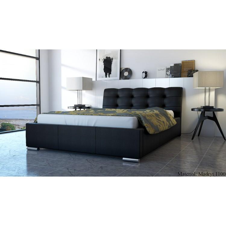 Mila At7 łóżko Tapicerowane Do Sypialni