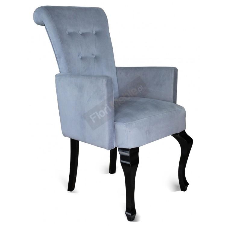 Fotelik tapicerowany z podłokietnikami STB56G-P