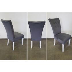 Wygodne krzesło tapicerowane do kuchni STB67