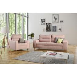 Zestaw sofa Aves i fotel do salonu