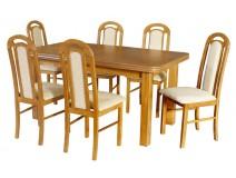 Stół rozkładany Wenus P V krzesła Piano