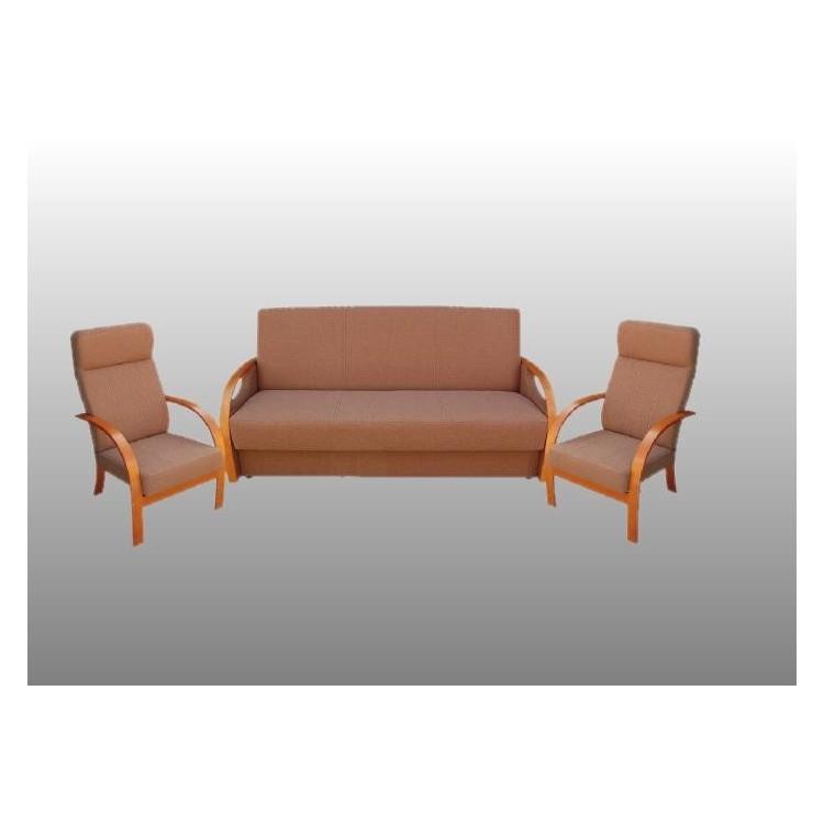 Zestaw wypoczynkowy do salonu Nati wersalka i dwa fotele