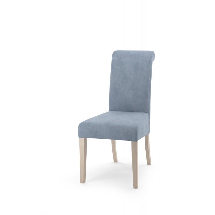 Krzesło tapicerowane STB78 z wałkiem na oparciu