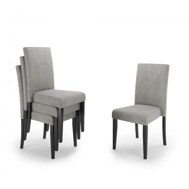 Krzesło tapicerowane STB82 sztaplowane
