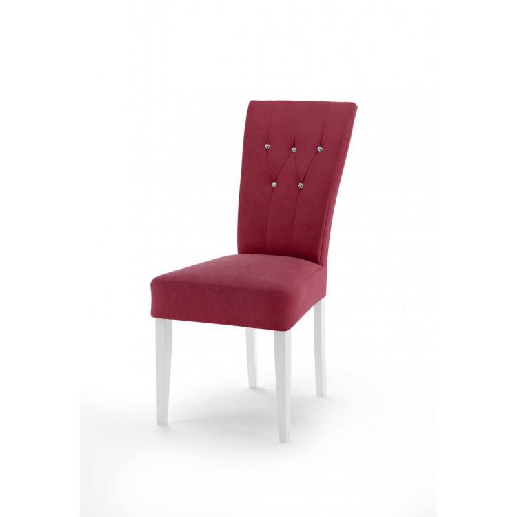 Krzesło tapicerowane STB68 z kryształkami