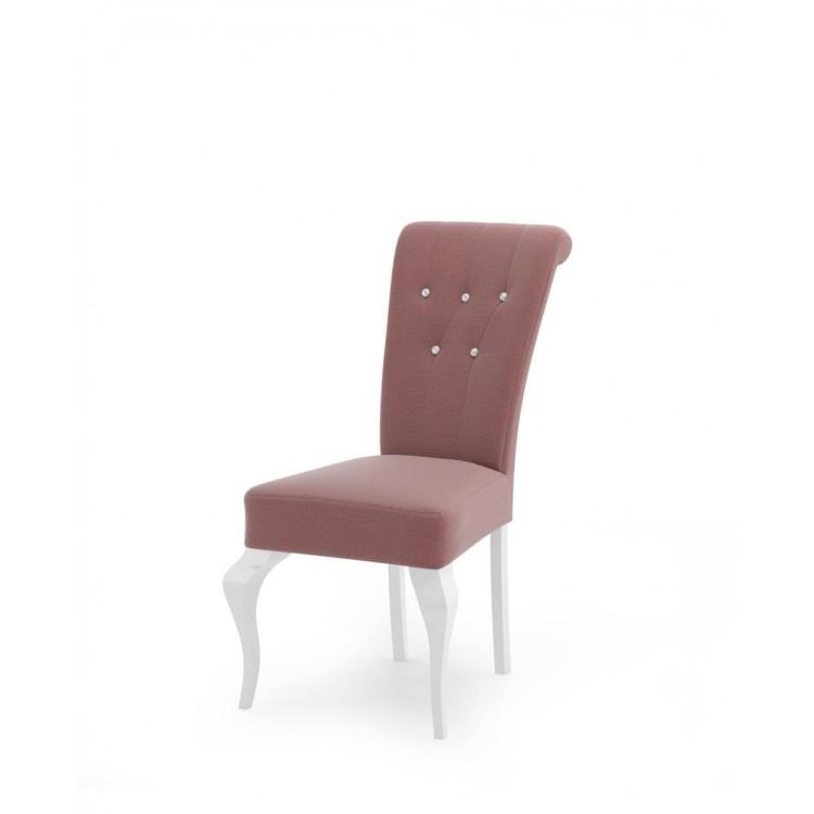 Stylowe tapicerowane krzesło STB64 do salonu