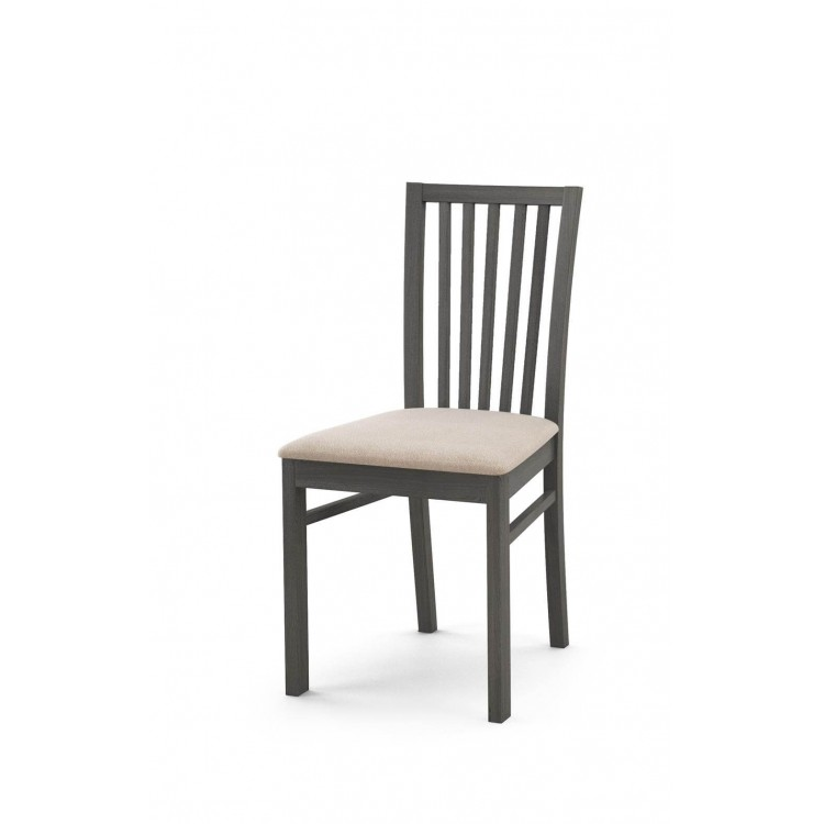 Białe krzesła drewniane Biały Szczebel B52