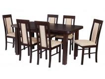 stół wenus P5 krzesła Milano 6