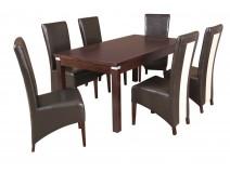 Zestaw stół Hades SP krzesła B38
