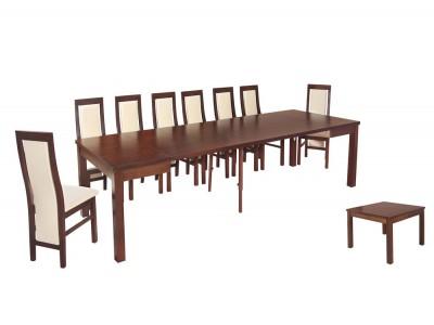 Zestaw stół Hades Mini Max krzesła B42