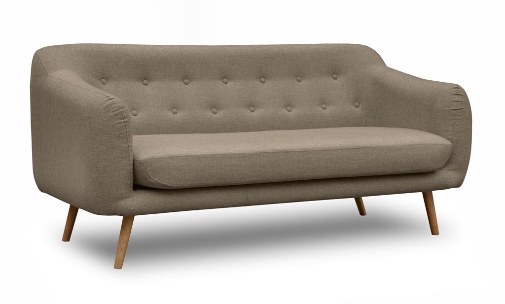 ELLY skandynawska sofa do biura, tkanina INARI 23