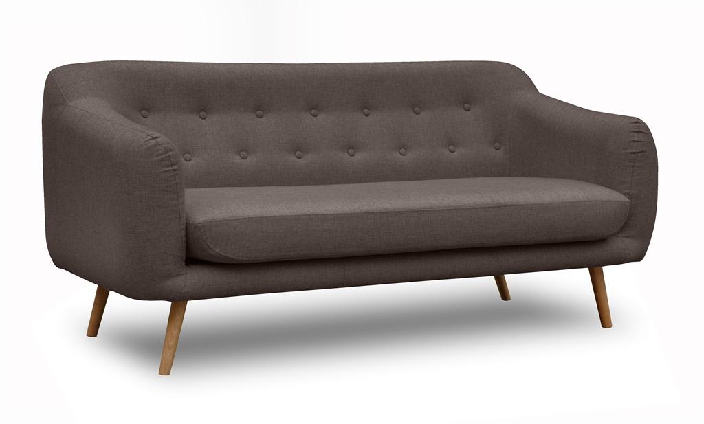Sofa w stylu Skandynawskim w tkaninie INARI 27